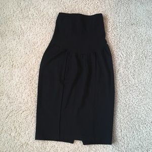 A Pea in the Pod Maternity Pencil Skirt, Size Sm